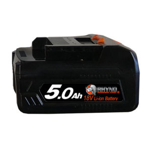 RWC-41 18V-5.0 Ah Battery Pack - side